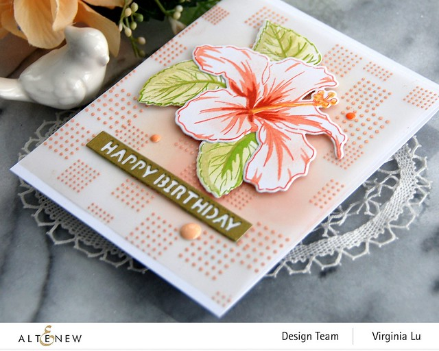 12082020-Dots & Boxes-You Are Beautiful Stamp & Die Bundle-Rose Gold Embossing Powder-Essential Sentiment Strips Die -002