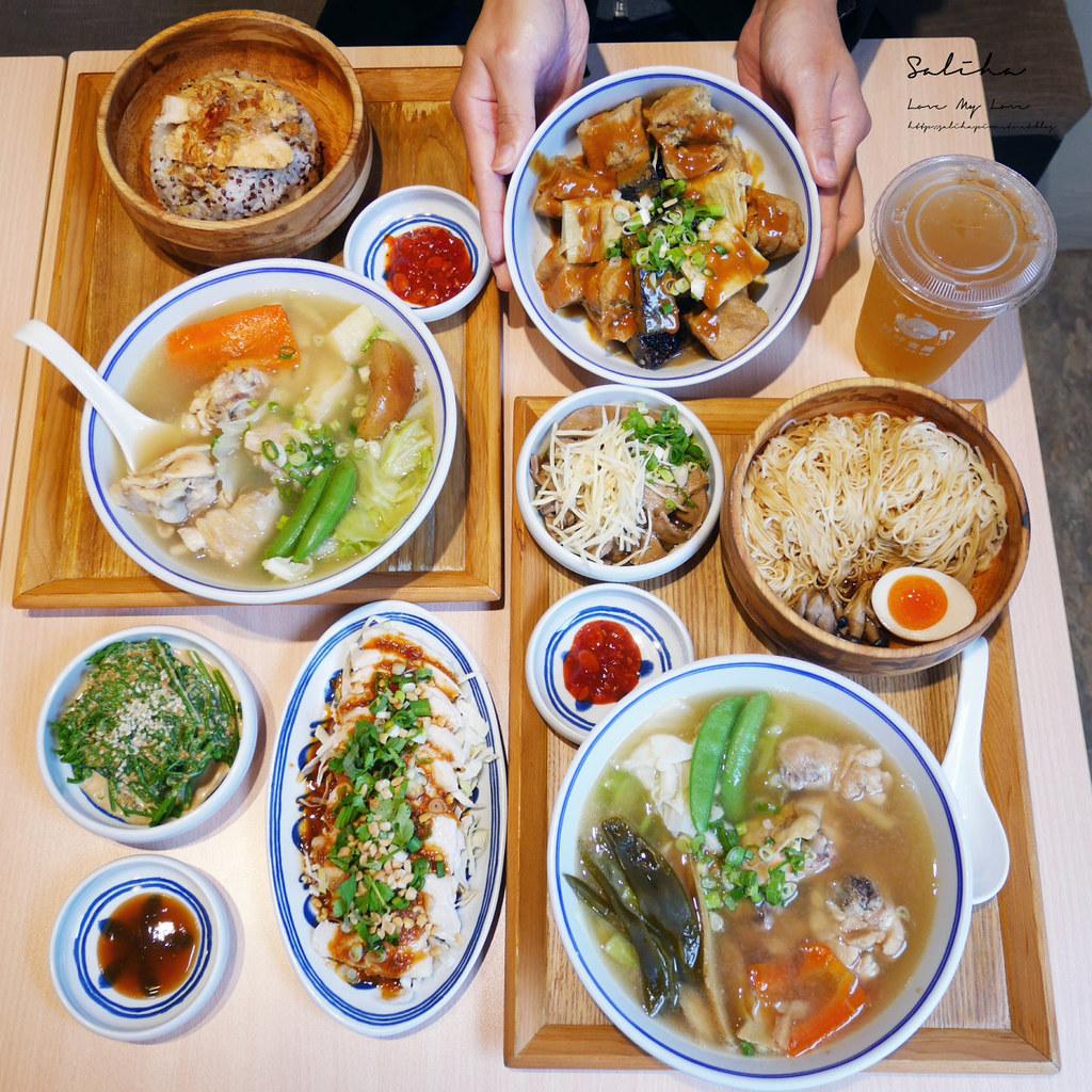 台北內湖好吃餐廳美食推薦好好食房 西湖站附近不限時可久坐外帶外送麵雞湯有素食 (2)