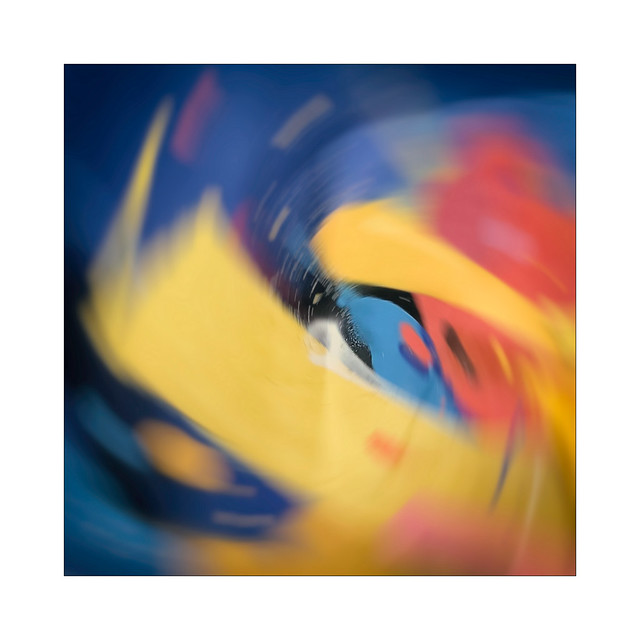 Blurry abstract
