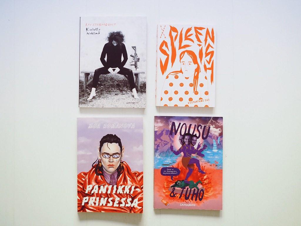 Kiinnostavimmat sarjakuvat: Liv Strömquist, Moa Romanova, Ulla Donner