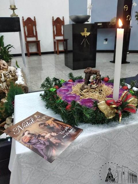 Abertura da Novena de Natal nas paróquias da Diocese - 2020