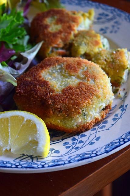 fishcakes au saumon écossais (croquettes de saumon)