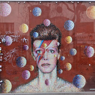 Bowie memorial | by Dave Cross