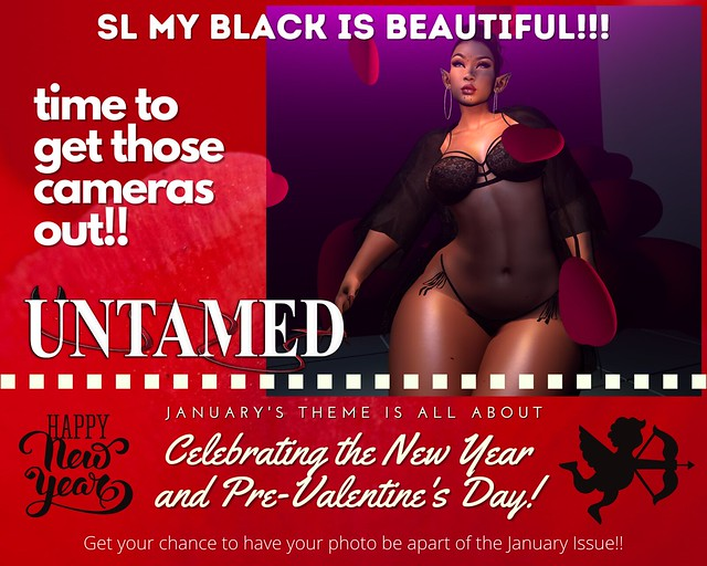 UNTAMED Magazine January Issue Promo