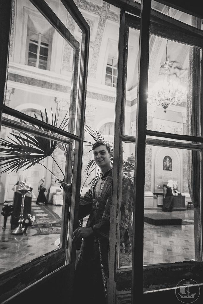 Престольный праздник домового храма Санкт-Петербургской академии художеств