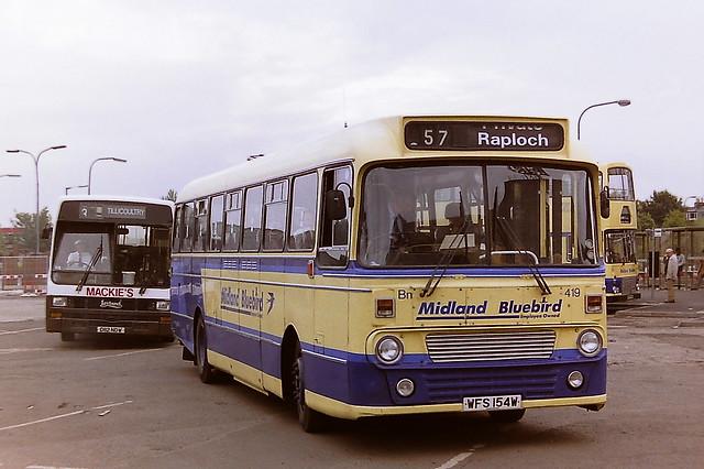 MIDLAND BLUEBIRD BN419 WFS154W