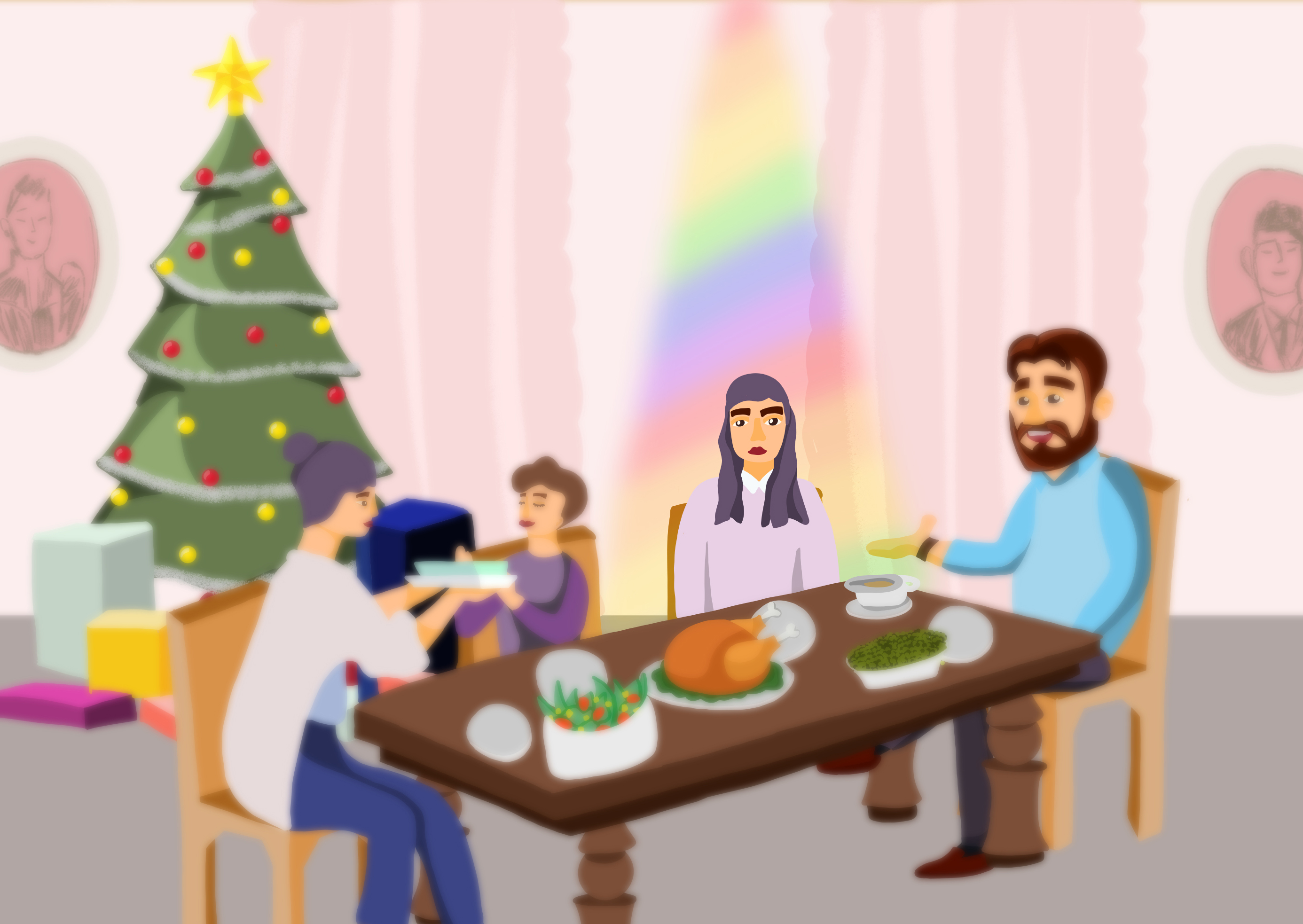 Queer at Christmas: The struggles of being LGBT during the holidays