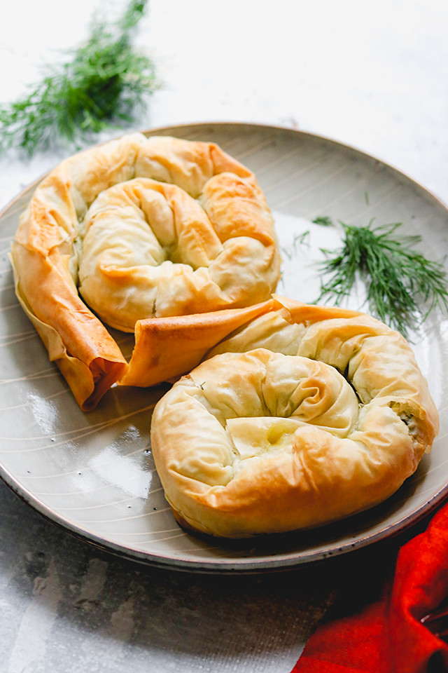 Spinach, Feta, and Leek Hand Pies