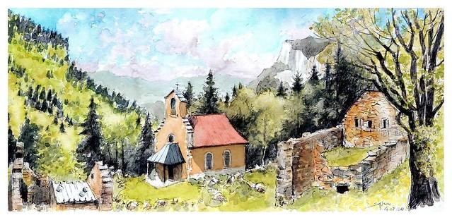 Alpes - France - (Vercors - Vilars de Lans - Valchevrière)