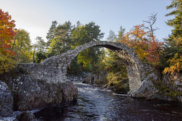 Old Packhorse Bridge, Scotland