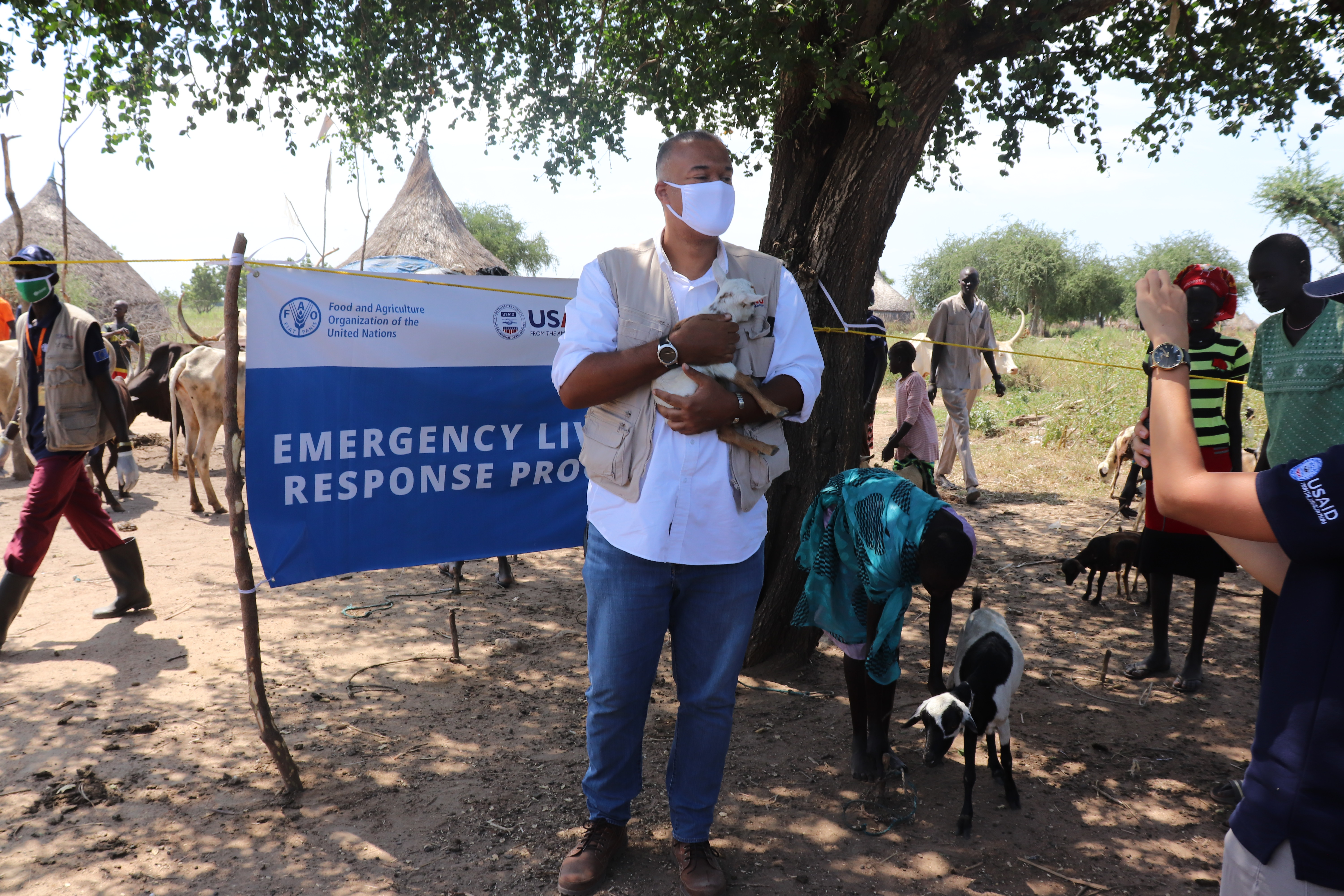 Livestock vaccinations in South Sudan
