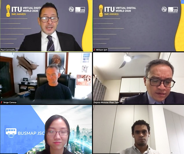 ITU Virtual Digital World 2020 SME Awards Ceremony