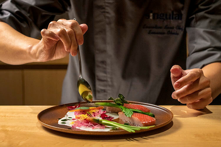 experience culinary masterpieces
