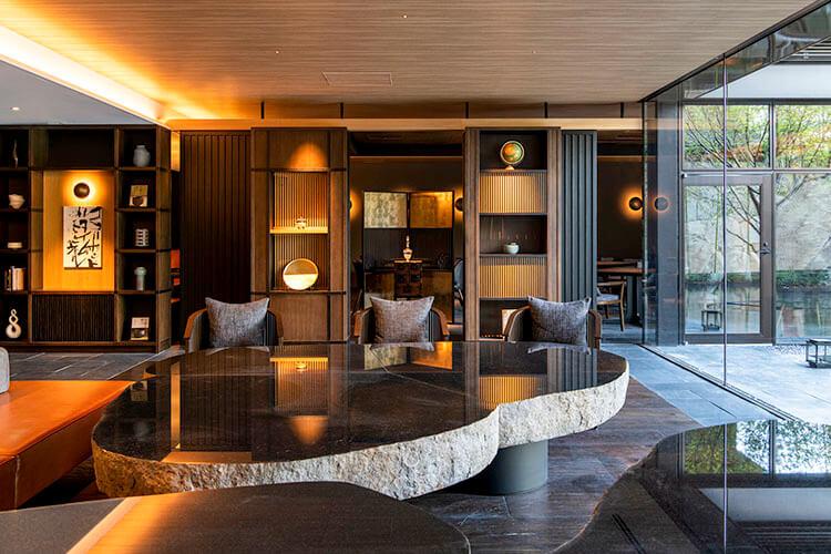 Kyoto Yura Hotel Nijo Jo Bettei MGallery interior