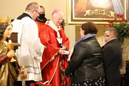 Bierzmowanie Parafia św. Barbary w Trzebini
