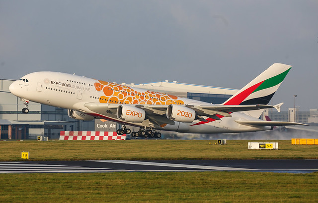 Emirates (Expo 2020 - Opportunity Livery) Airbus A380-861 A6-EOU