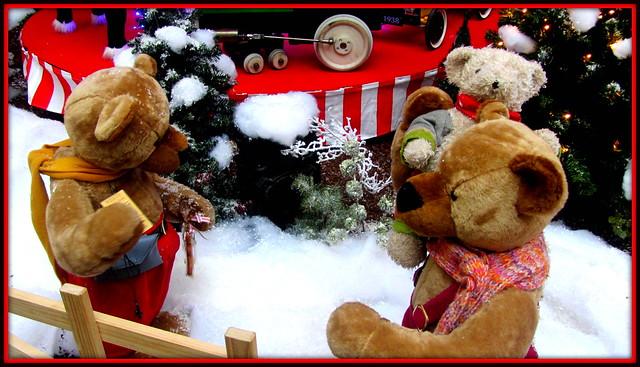 Christmas teddies!!