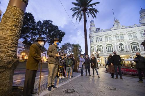 Visita teatralizada de Benito Pérez Galdós