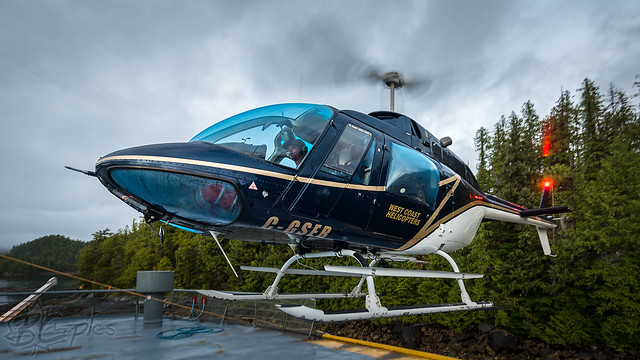 C-GSEB - West Coast Helicopters -  Bell 206B Jetranger