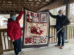 Presentation to Quilts of Valour