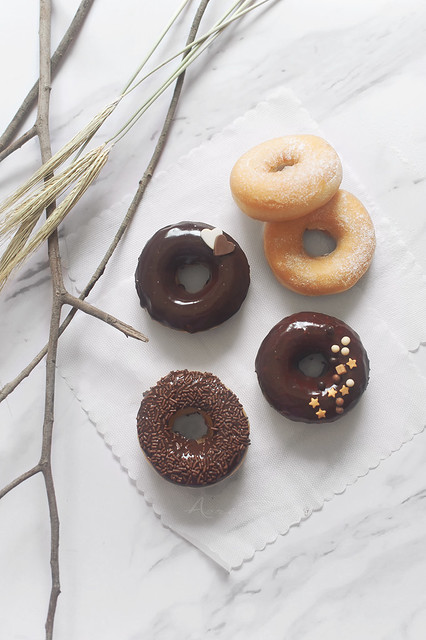 doughnut with chocolate