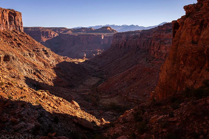 Trough Springs Canyon