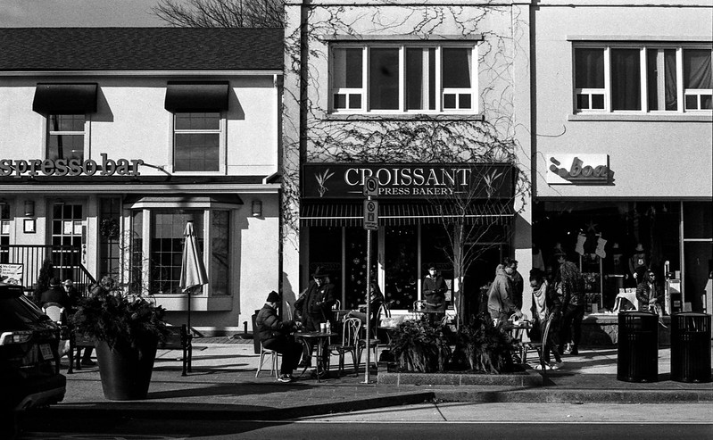 Outside Croisant Express