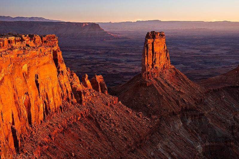 Canyonlands Overlook Sunset