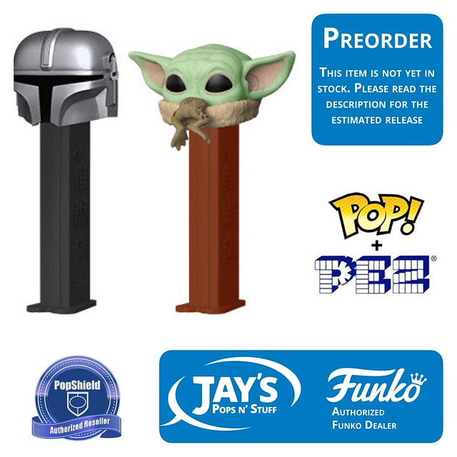 Funko Pop Star Wars Mandalorian Child w// Bag PopShield In Stock