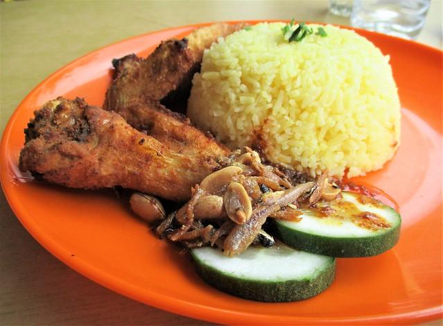 Udak Kitchen nasi lemak special 1
