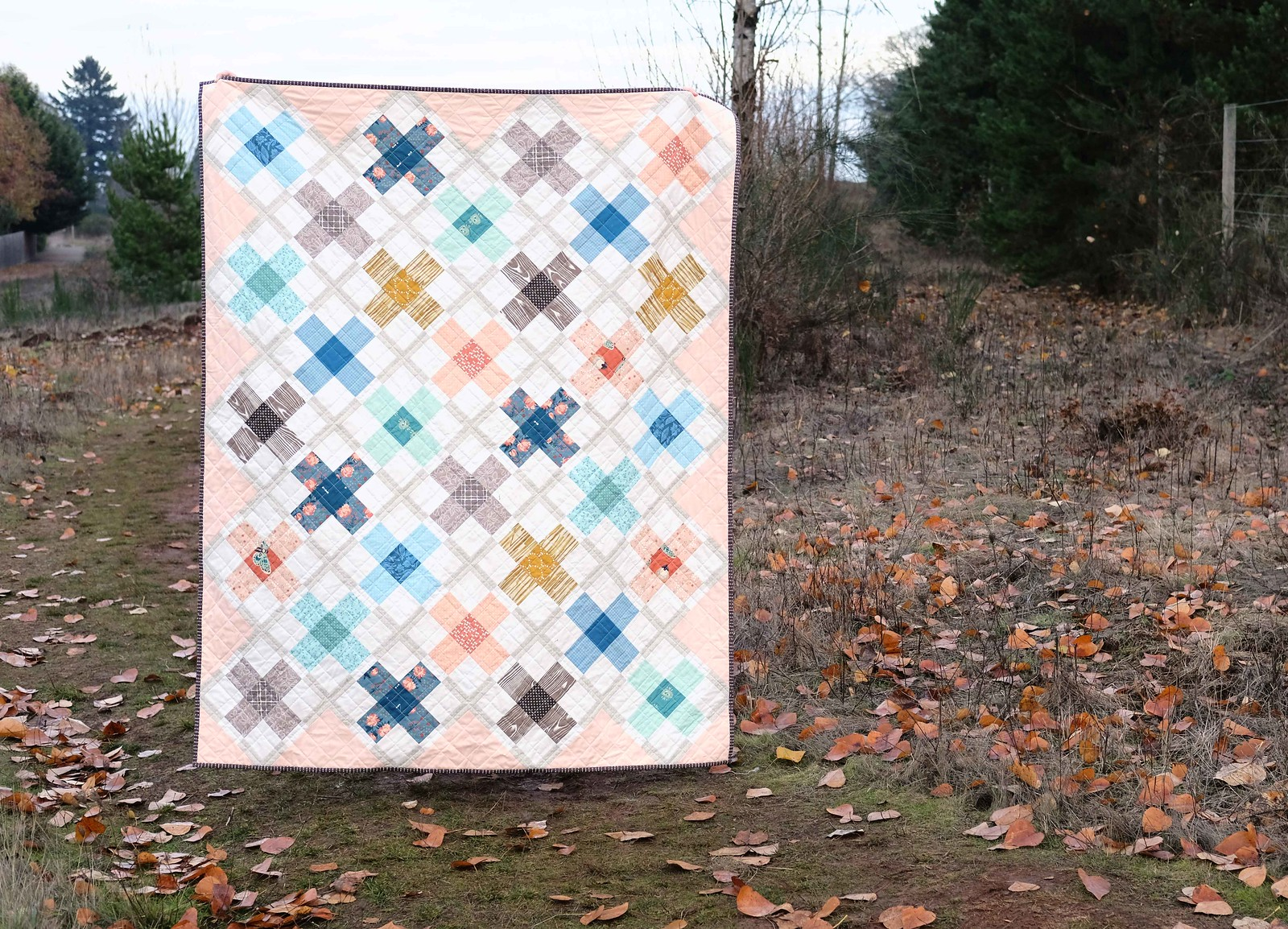 The Ruth Quilt, Stashbusting Version - Kitchen Table Quilting