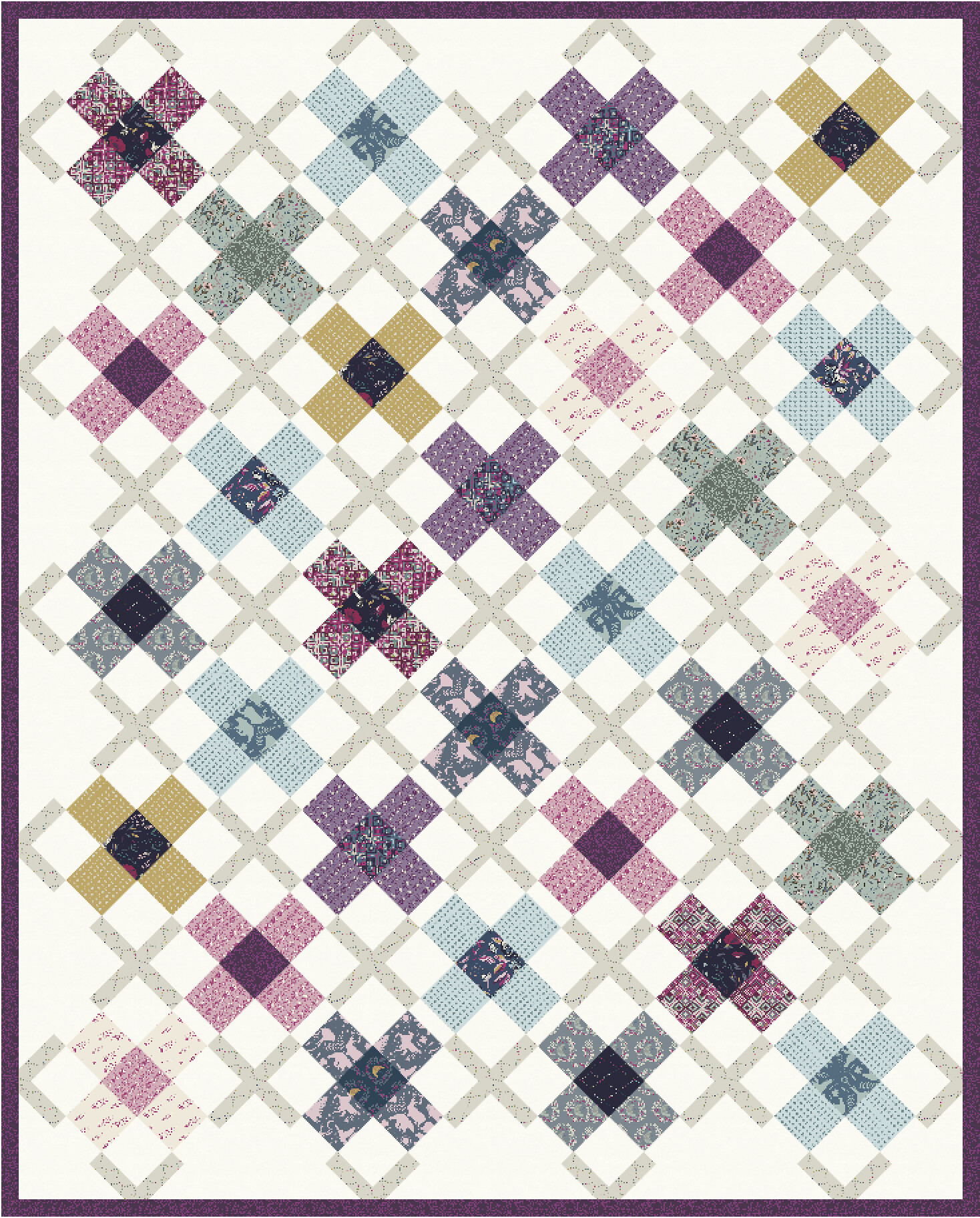 The Ruth Quilt in Mystical Land