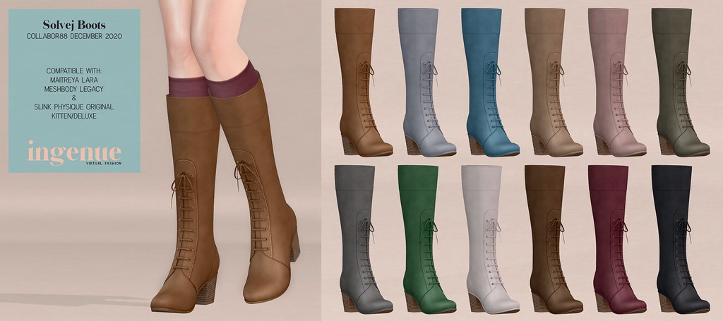 Ingenue :: Solvej Boots