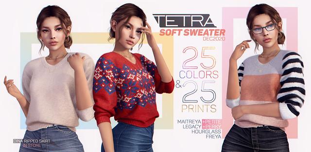 TETRA Soft Sweater / December 2020