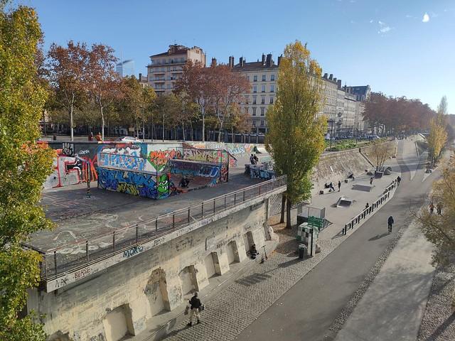 TOUT en FLANANT à LYON - Quais du Rhône