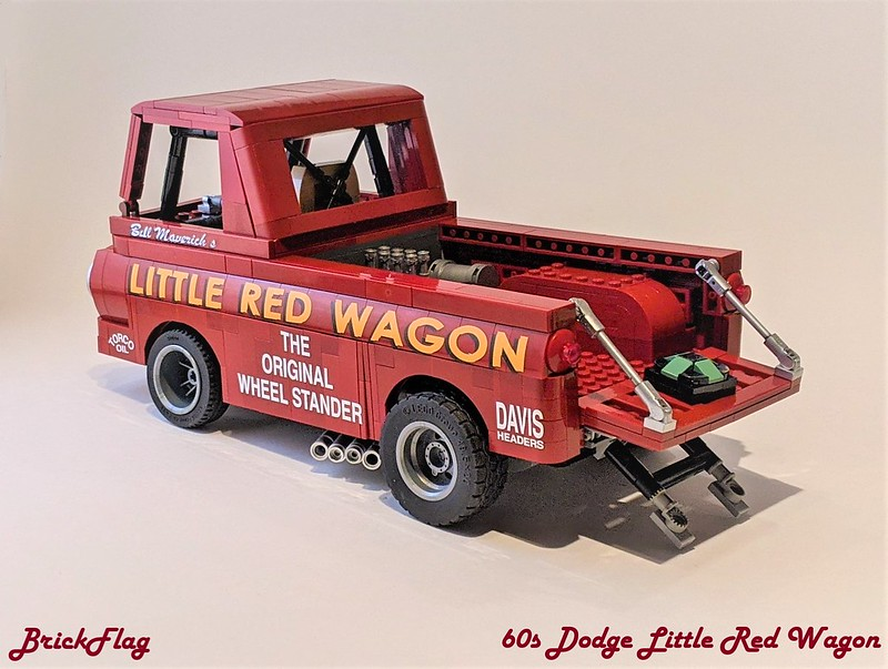60s Dodge Little Red Wagon