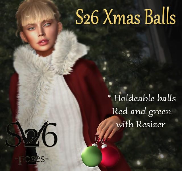 New S26 Xmas Balls (hold)