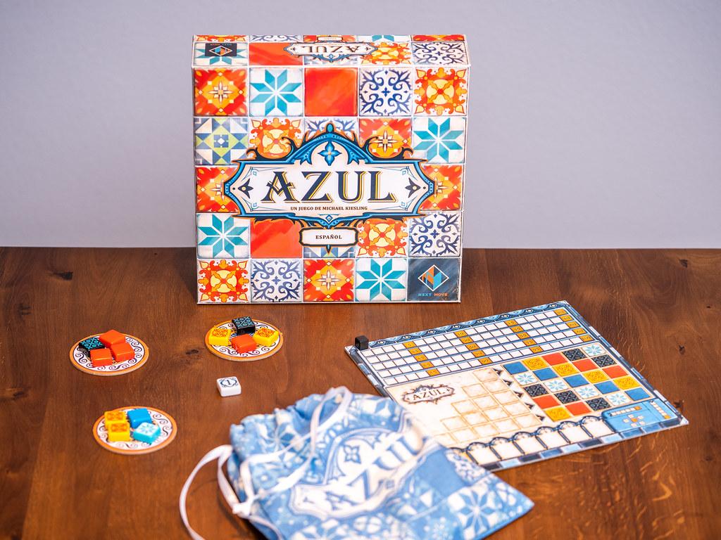 Azul boardgame juego de mesa