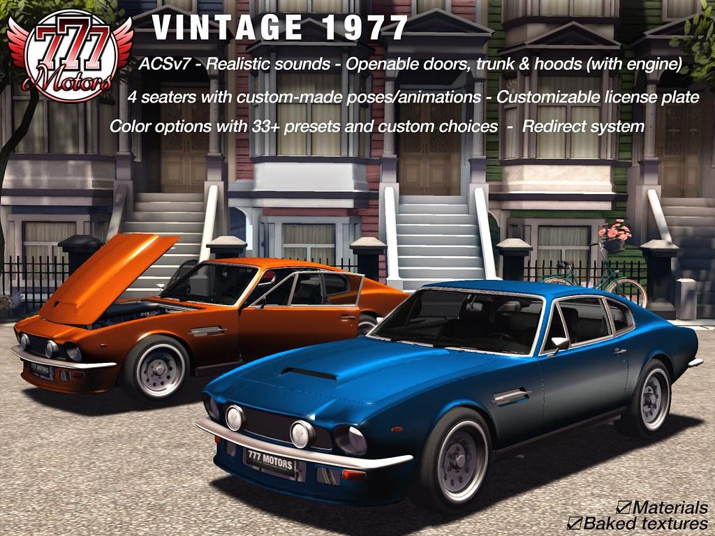 [777] Vintage 1977 @ Tlalli Event