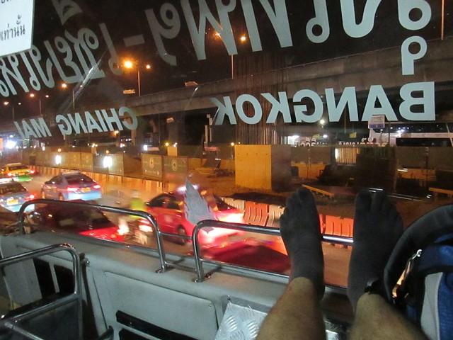 night bus to Chiang Mai