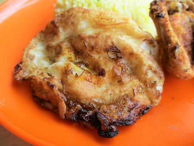 Over-fried egg