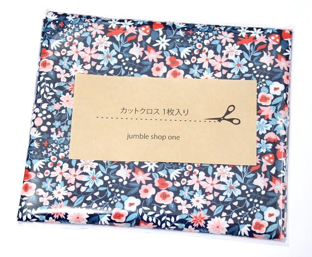 カットクロス Monaluna Modern Love ML-02 Woodland Floral Night