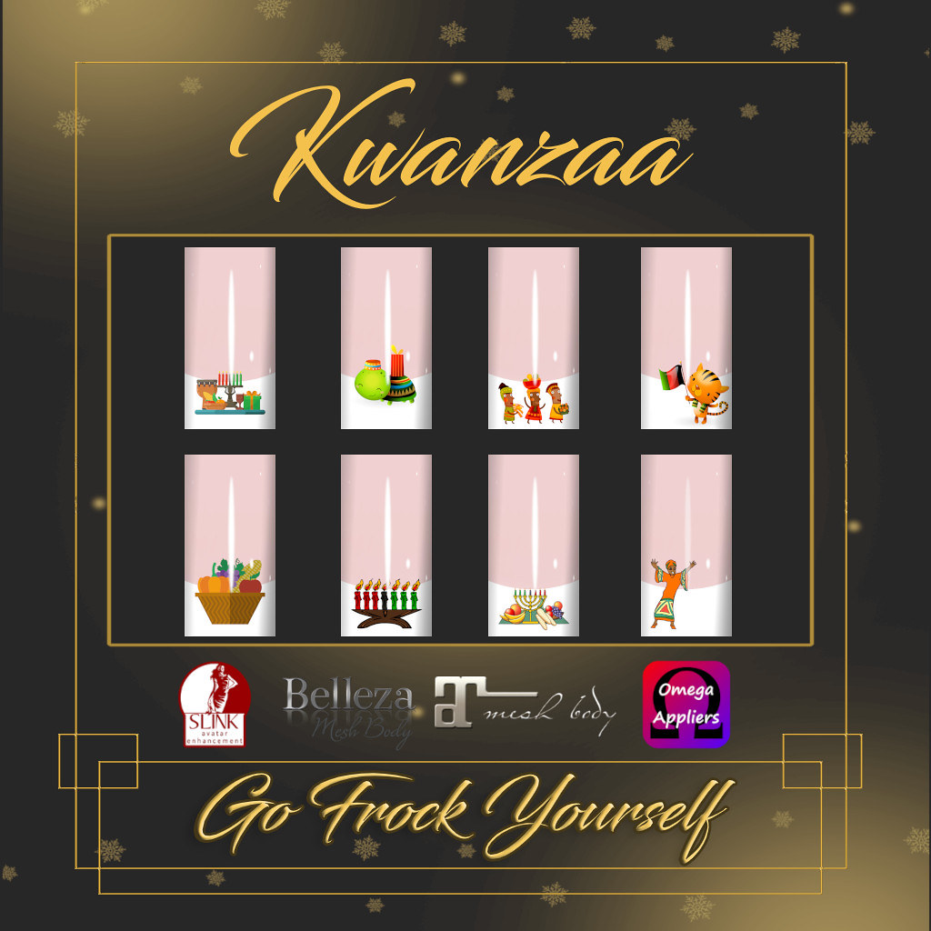 GFY-Kwanzaa Nail Appliers