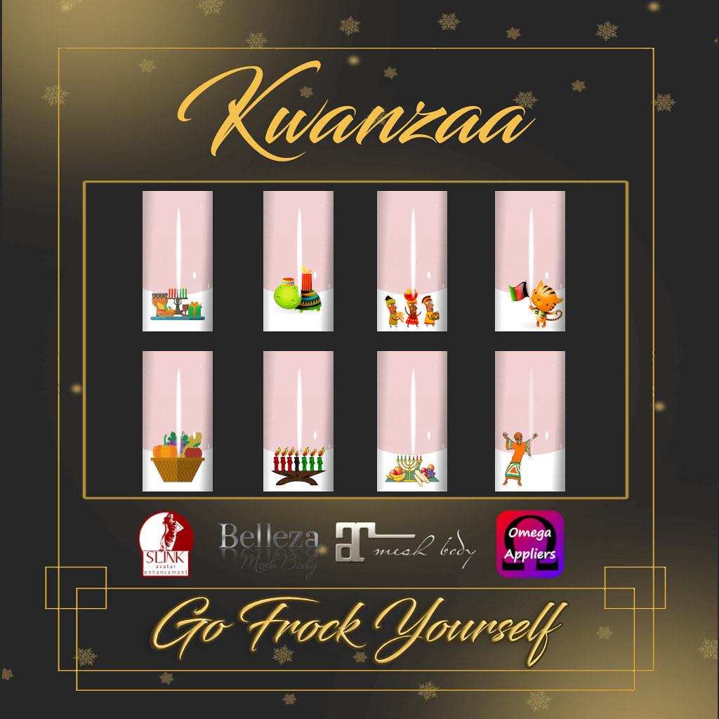 GFY-Kwanzaa Nail Appliers