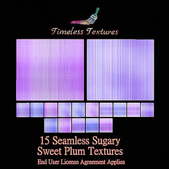 2020 Advent Gift Dec 8th - 15 Seamless Sugary Sweet Plum Timeless Textures