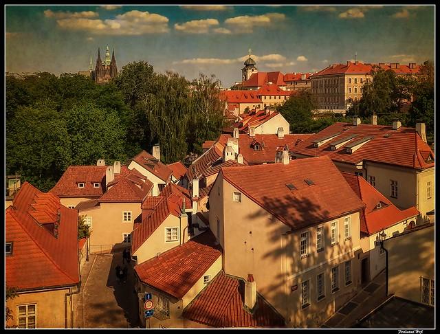 Praha - Prague_Nový svět_Praha 1 - Hradčany_Czechia