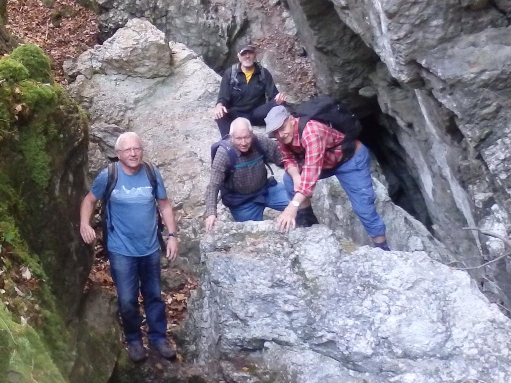 2020-11-11 Wanderung Canyon Les Vaivres - Eibe - Franzosenloch