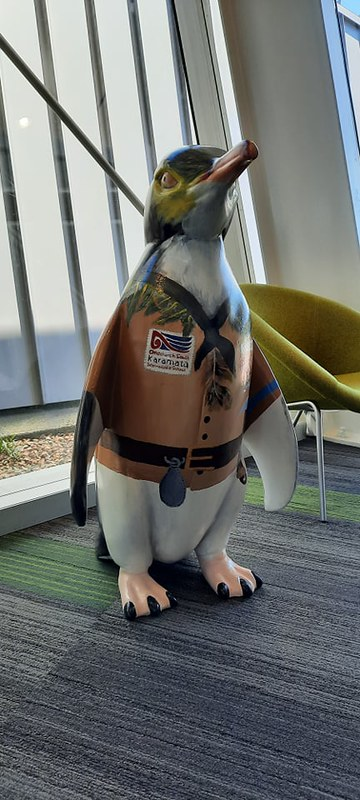 Penguin at Te Hāpua: Halswell Centre