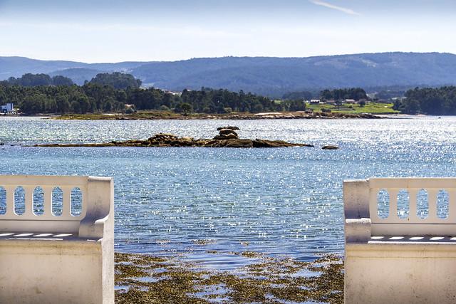 Spain - Pontevedra - O Grove - La Toja Island