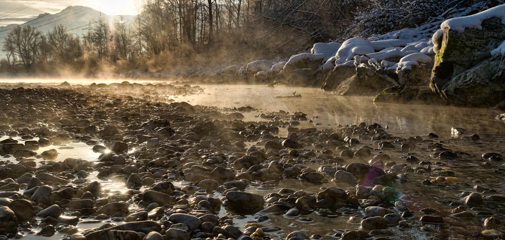 Steamy Inn river